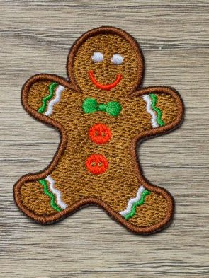 Gingerbread Man Patch