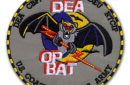 DEA OP BAT Military Patch